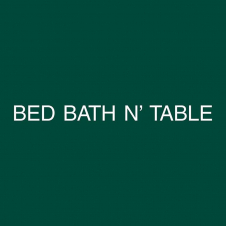 Bed Bath N' Table brand